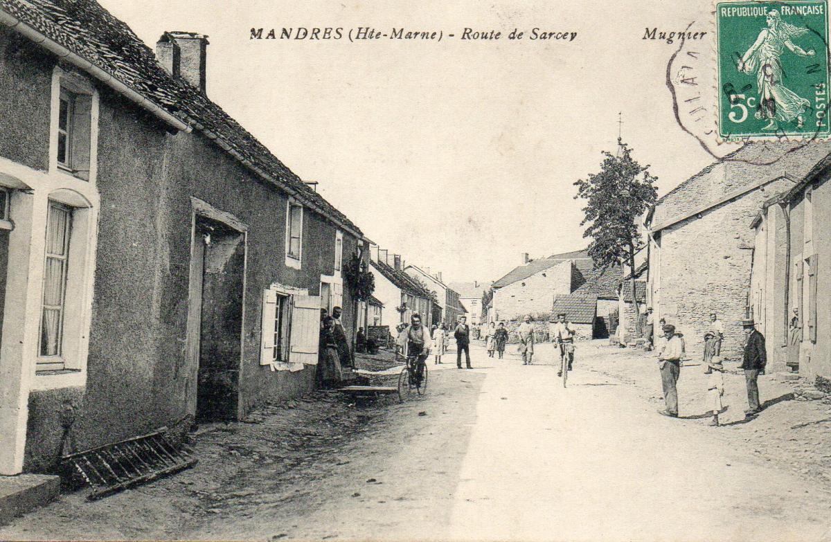 Rue de bourgogne avant vue du bas