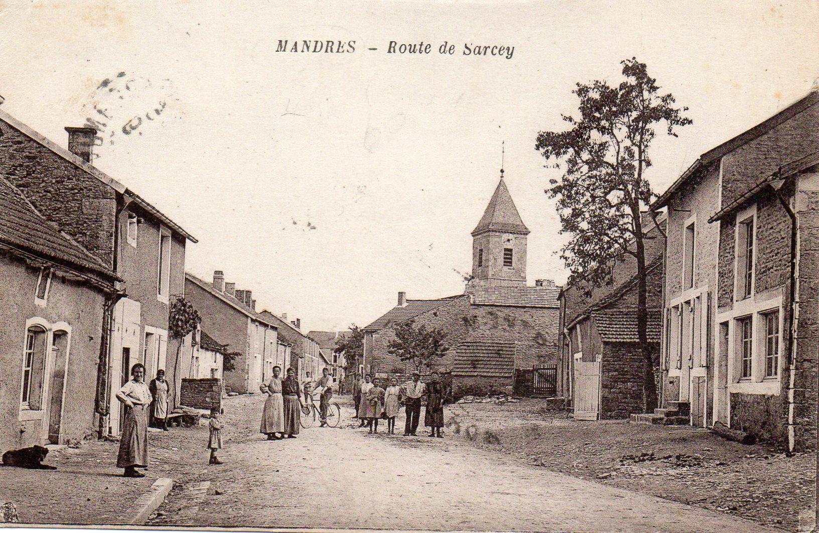 Rue de bourgogne avant