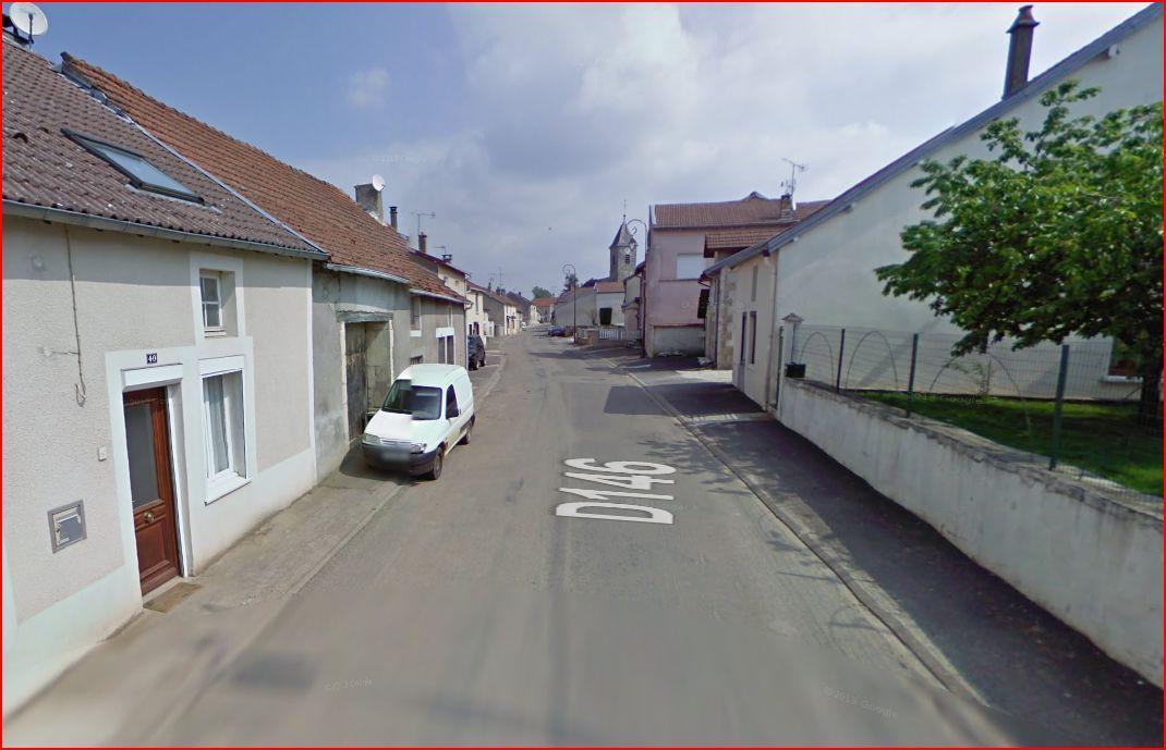 Rue de bourgogne vue du bas