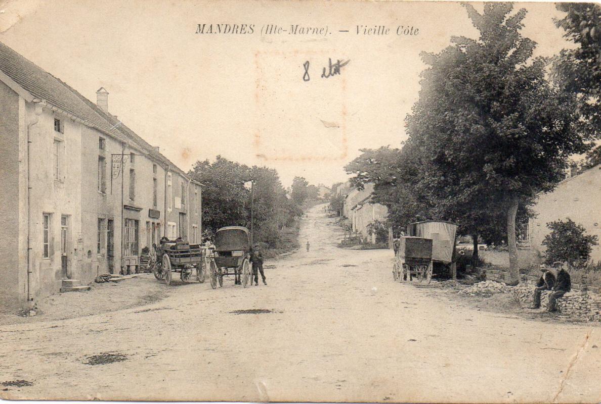 Rue de normandie avant vue du bas