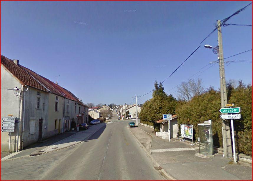 Rue de normandie vue du bas