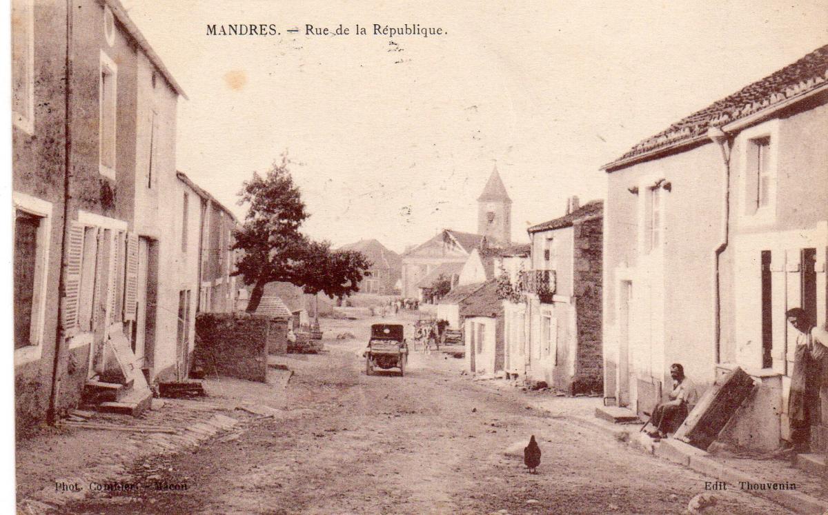 Rue de touraine avant