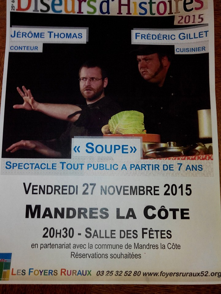 Spectacle soupe